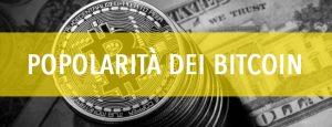 bitcoin: popolarità dei bitcoin
