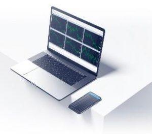 Laptop trading platform